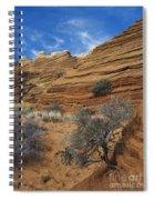 Layered Sandstone Spiral Notebook