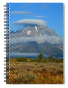 Layering Clouds Spiral Notebook