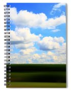 Layers Of Summer In Ohio Spiral Notebook
