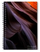Layers Of The Desert Spiral Notebook