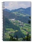Lazec, Near Cerkno, Littoral Region Spiral Notebook