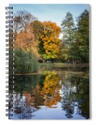 Lazienki Park Autumn Scenery In Warsaw Spiral Notebook