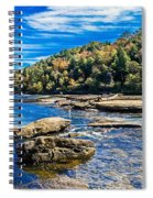 Lazy River Afternoon Spiral Notebook