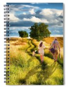 Lazy Summer Afternoon Spiral Notebook
