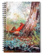 Lazy Summer's Day By Jan Matson Spiral Notebook