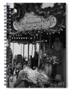 Le Carrousel Spiral Notebook