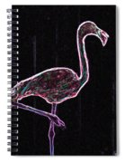 Le Flamant Electrique Spiral Notebook