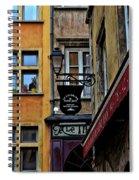 Le Gourmand Saint Jean-lyon France Spiral Notebook