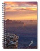 Le Grand Sunrise Spiral Notebook