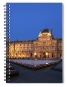 Le Louvre Palace Buildings And Pyramids Spiral Notebook