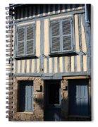 Le Mason Bleue Spiral Notebook