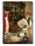 Le Mercant De Fromage Revel France Img7482 Spiral Notebook