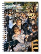 Le Moulin De La Galette Spiral Notebook