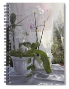 Le Orchidee Sfumate Spiral Notebook