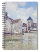 Le Pont De Moret Spiral Notebook