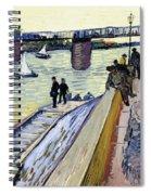 Le Pont De Trinquetaille Spiral Notebook