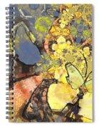 Le Printemps Des Papillons Spiral Notebook