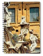 Le Statue Spiral Notebook