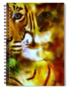 Le Tigre  Spiral Notebook