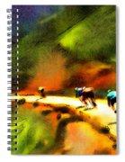 Le Tour De France 02 Spiral Notebook