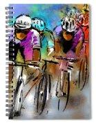 Le Tour De France 03 Spiral Notebook