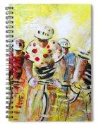 Le Tour De France 07 Acrylics Spiral Notebook