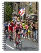 Le Tour De France 2014 - 4 Spiral Notebook