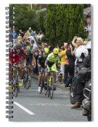 Le Tour De France 2014 - 5 Spiral Notebook