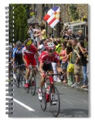Le Tour De France 2014 - 9 Spiral Notebook