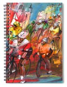 Le Tour De France Madness 04 Spiral Notebook