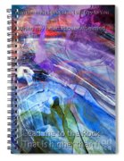 Lead Me To The Rock-psalm 61vs2 Spiral Notebook