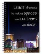 Leaders Create 21193 Spiral Notebook