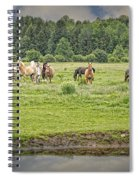 Leadership And Respect Spiral Notebook
