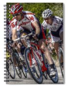 Leading The Race Spiral Notebook