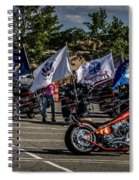 Leading The Way Spiral Notebook