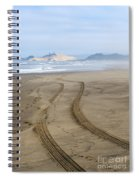 Leading To The Cape Spiral Notebook