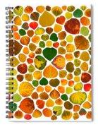 Leaf Collage 2 Spiral Notebook