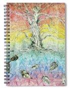Leaf Fall Spiral Notebook