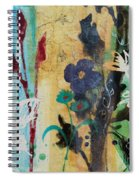 Leaf Flower Berry Spiral Notebook