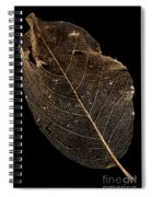 Leaf Lace Spiral Notebook