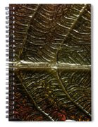 Leafage Spiral Notebook