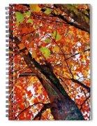 Leafward Spiral Notebook