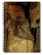 Leafwood Spiral Notebook