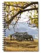 Lean To - Mormon Row - Grand Tetons Spiral Notebook