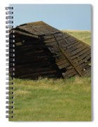 Lean To The Wind Spiral Notebook