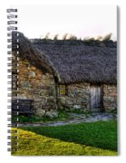 Leanach Cottage Spiral Notebook