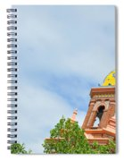 Leaning - Architectural Detail Spiral Notebook