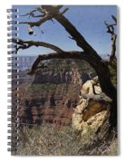 Leaning On The Everlasting Arms Spiral Notebook