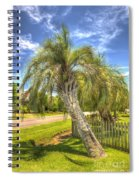 Leaning Palm Spiral Notebook