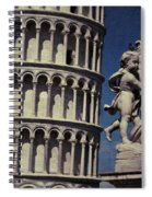 Leaning Tower Of Pisa Spiral Notebook